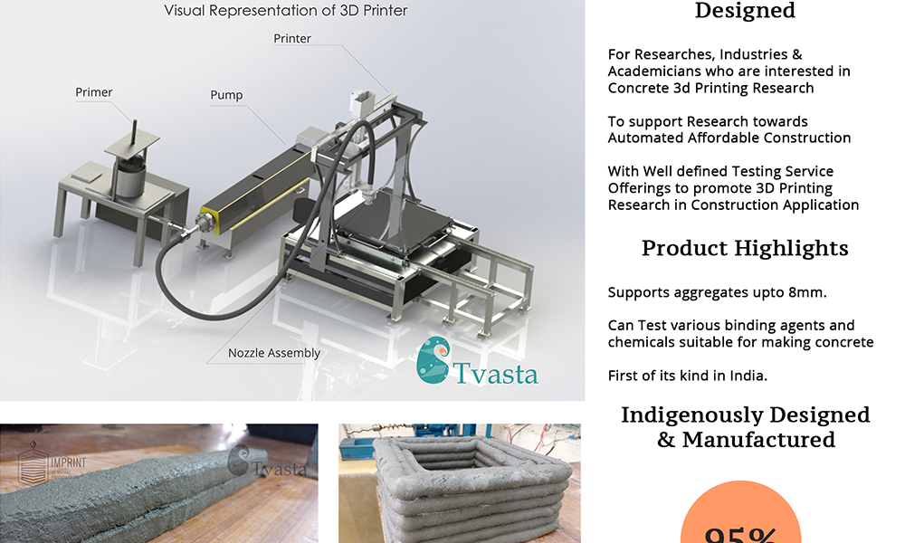 3D Printing construction technology launched